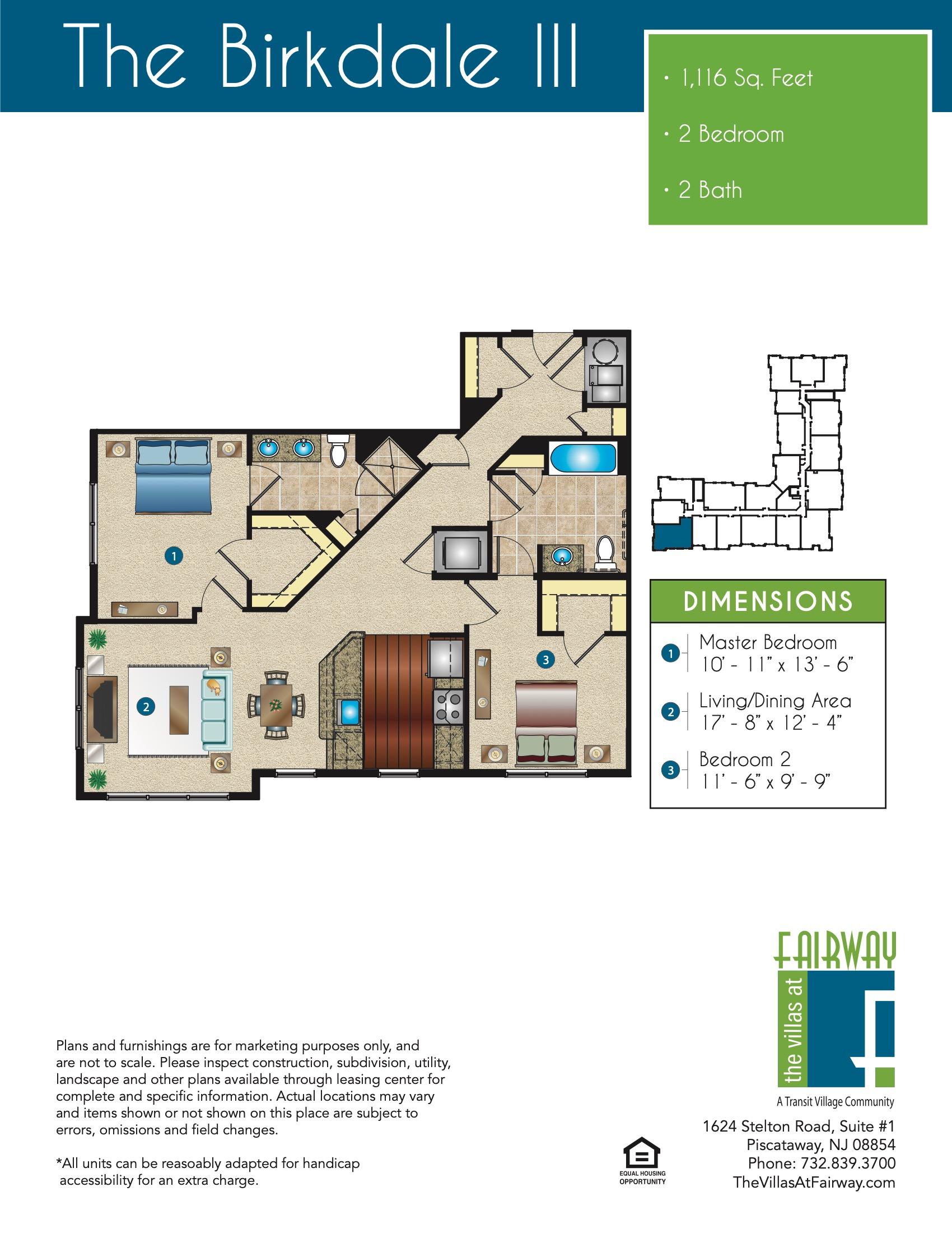 The Birkdale III Floor Plan