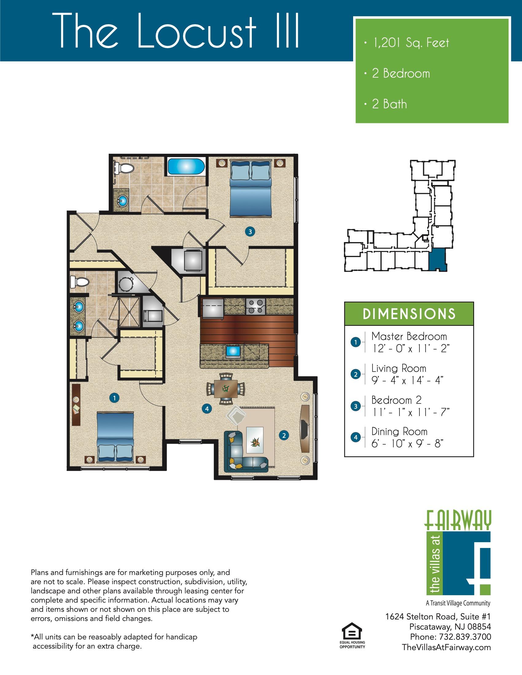 The Locust III Floor Plan