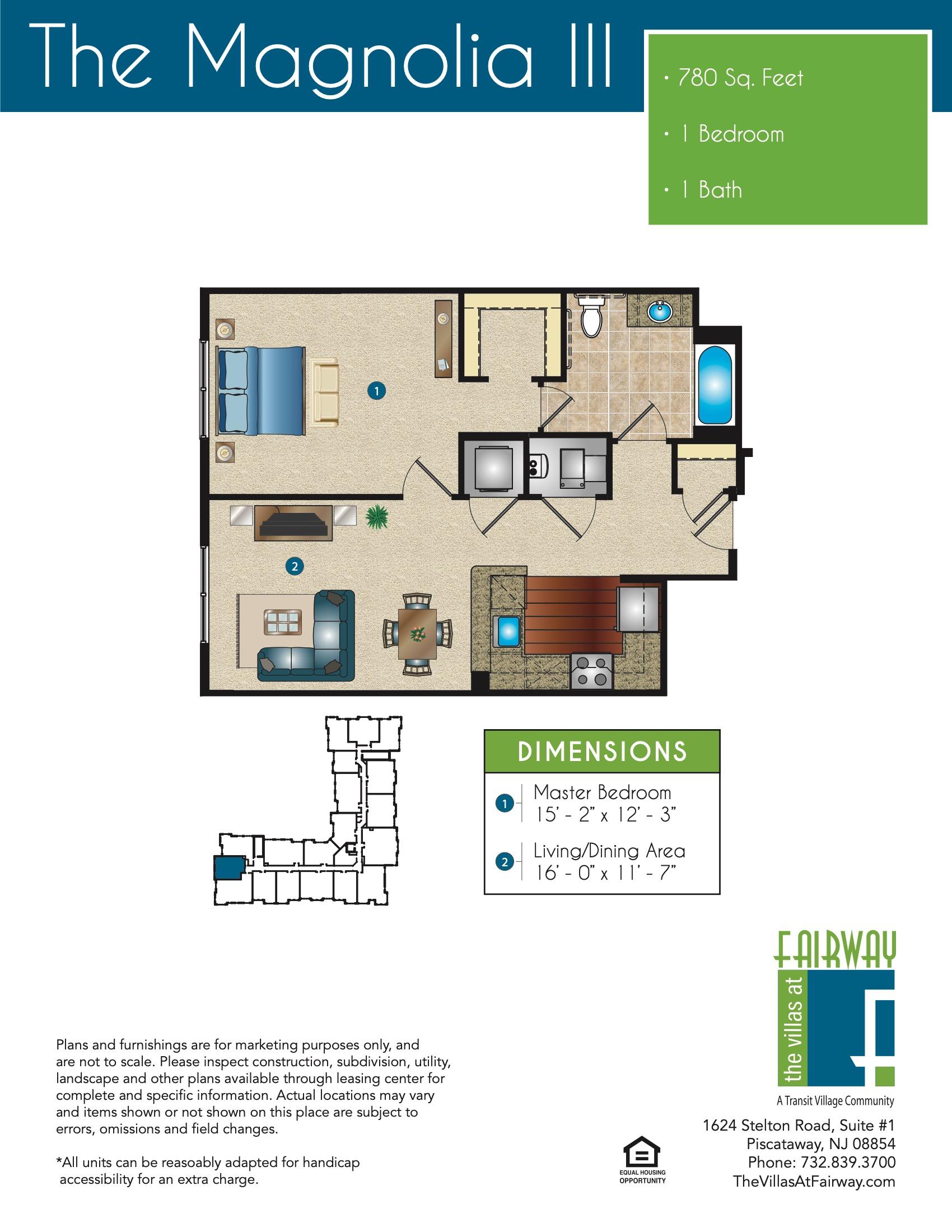 The Magnolia III Floor Plan