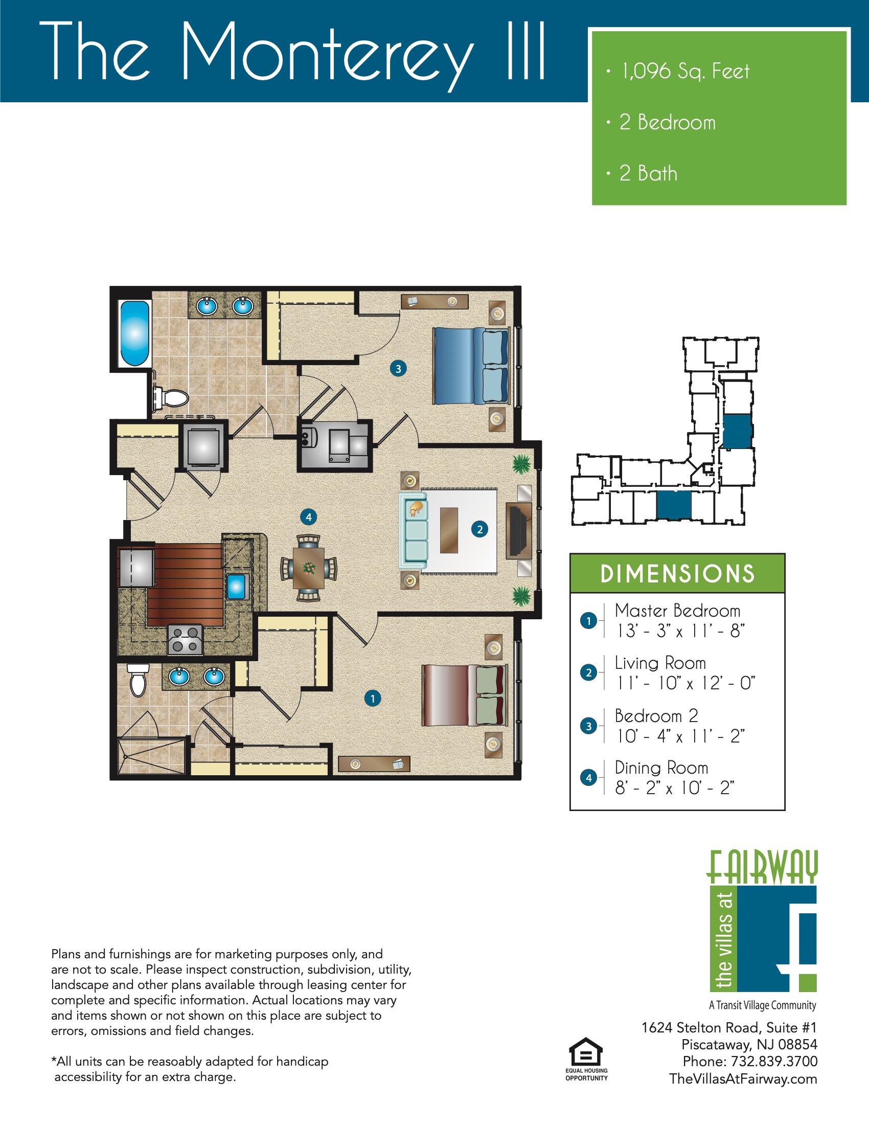 The Monterey III Floor Plan