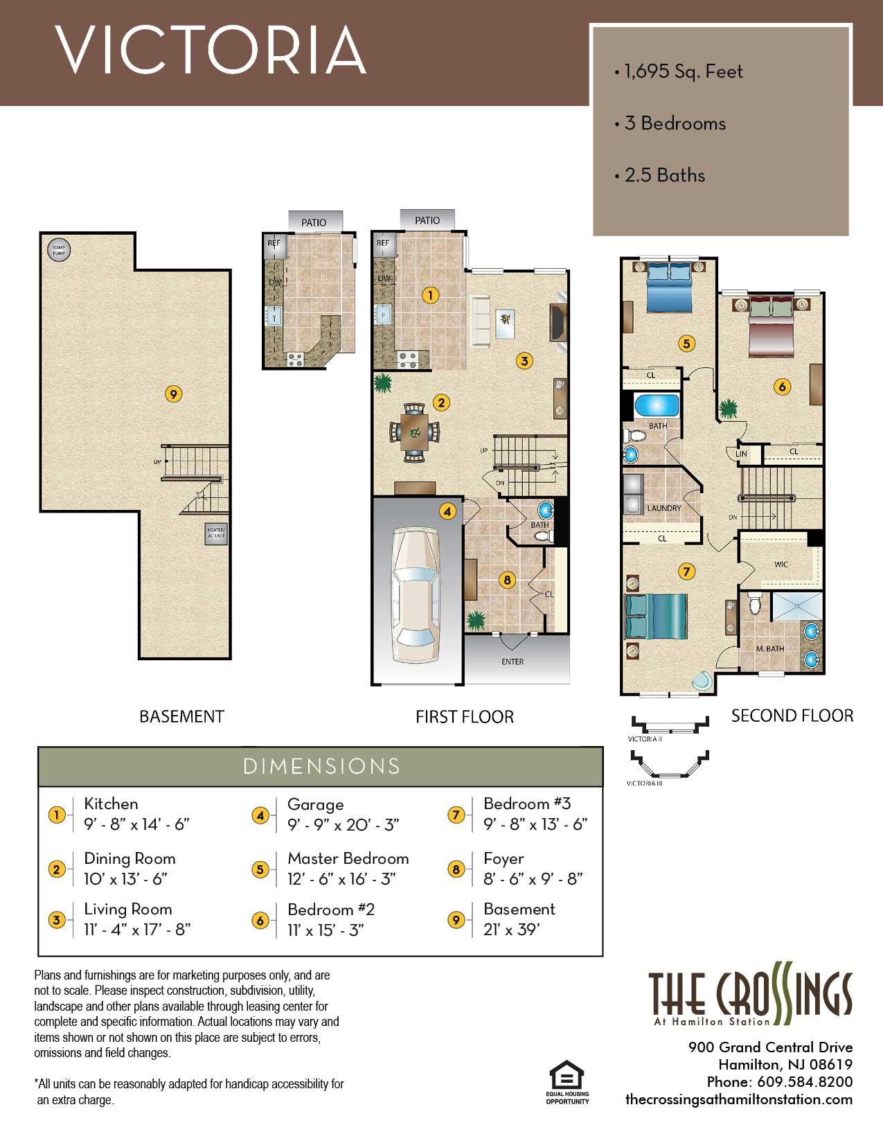 The Victoria Floor Plan