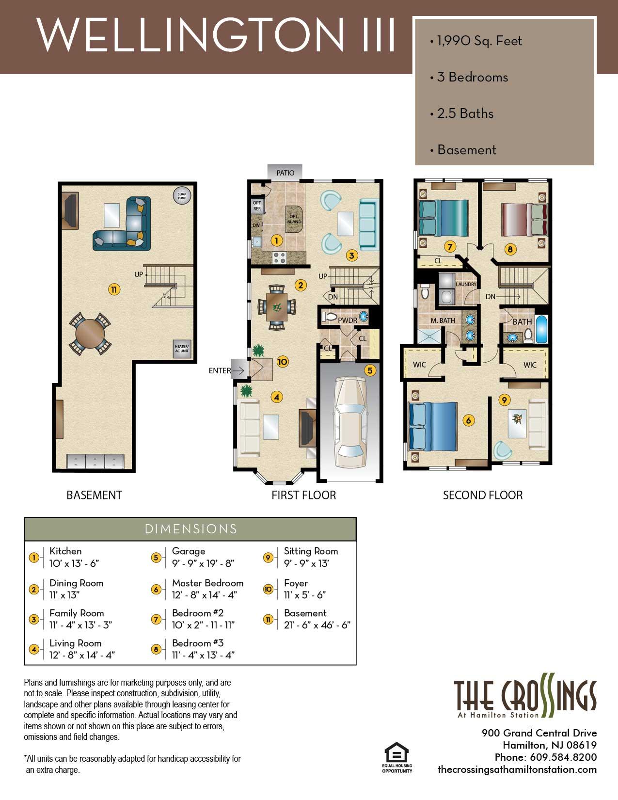 The Wellington III Floor Plan