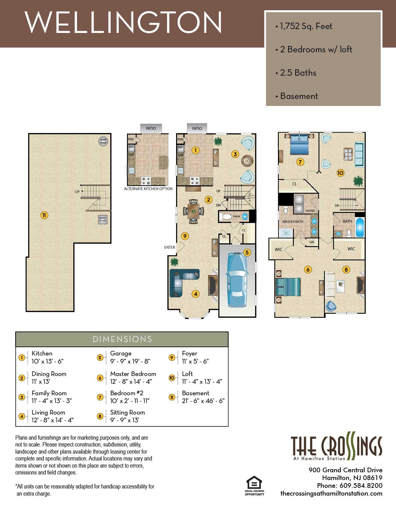 The Wellington Floor Plan