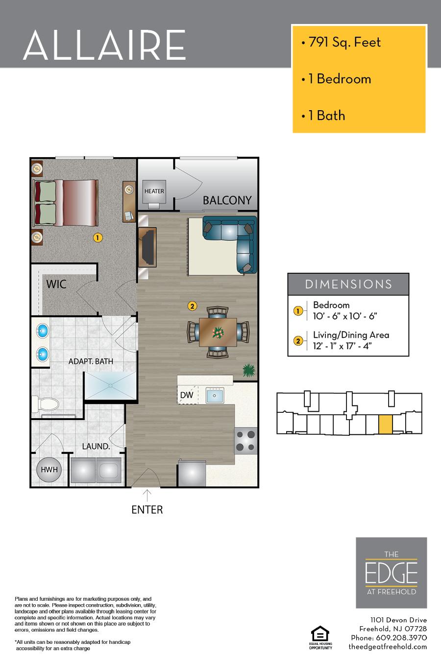 Allaire Floor Plan