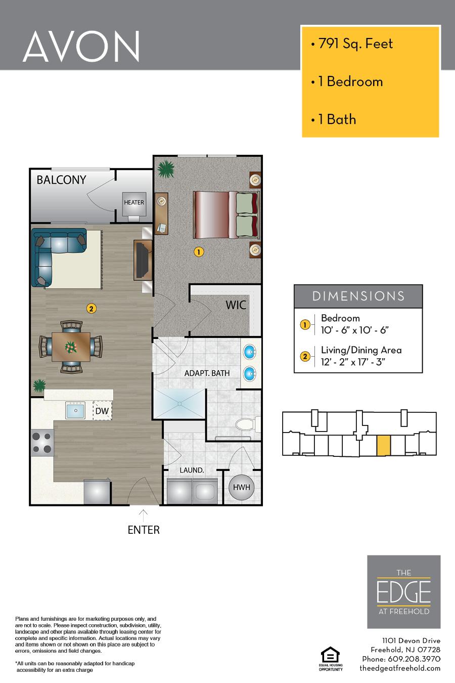 Avon Floor Plan