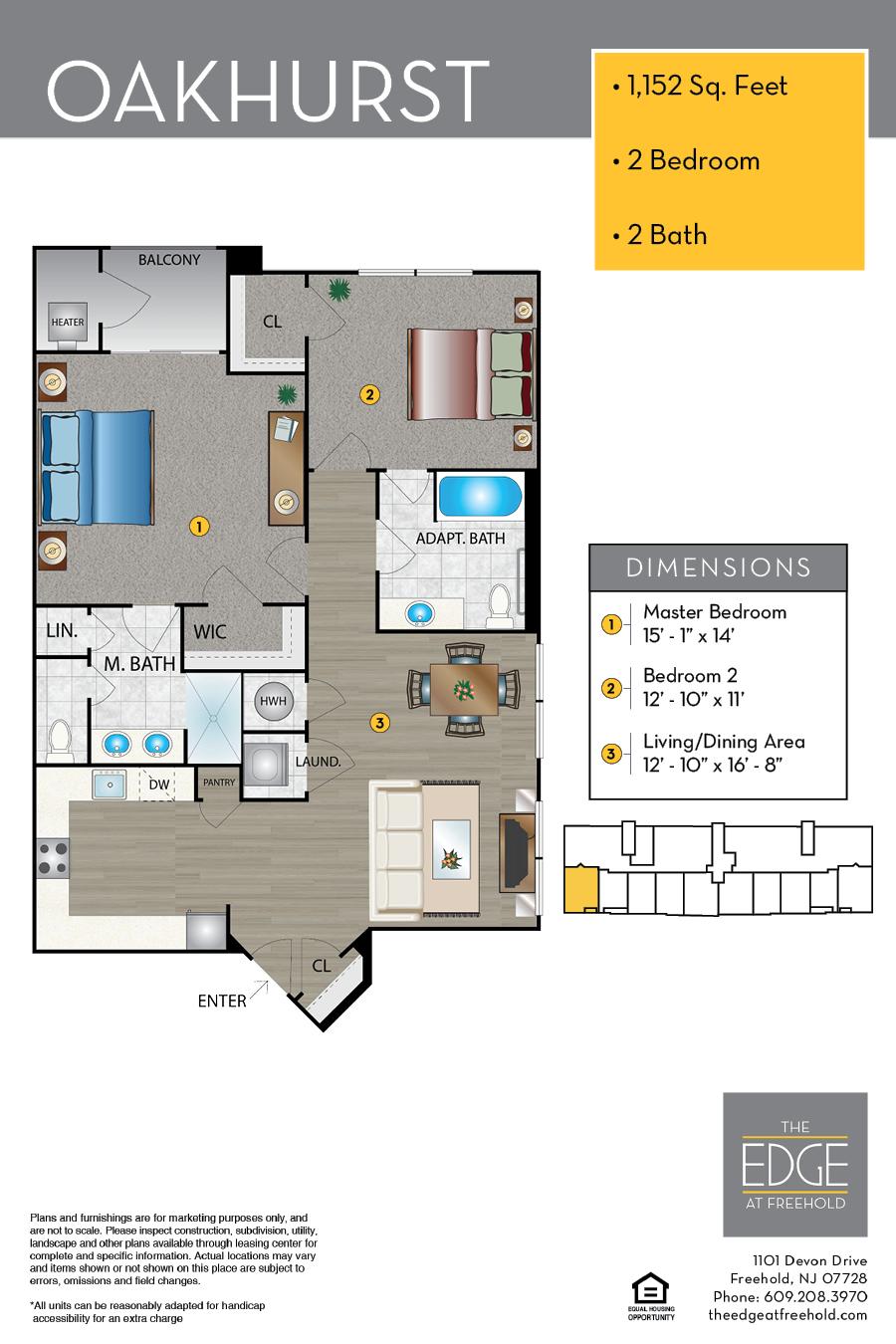 Oakhurst Floor Plan