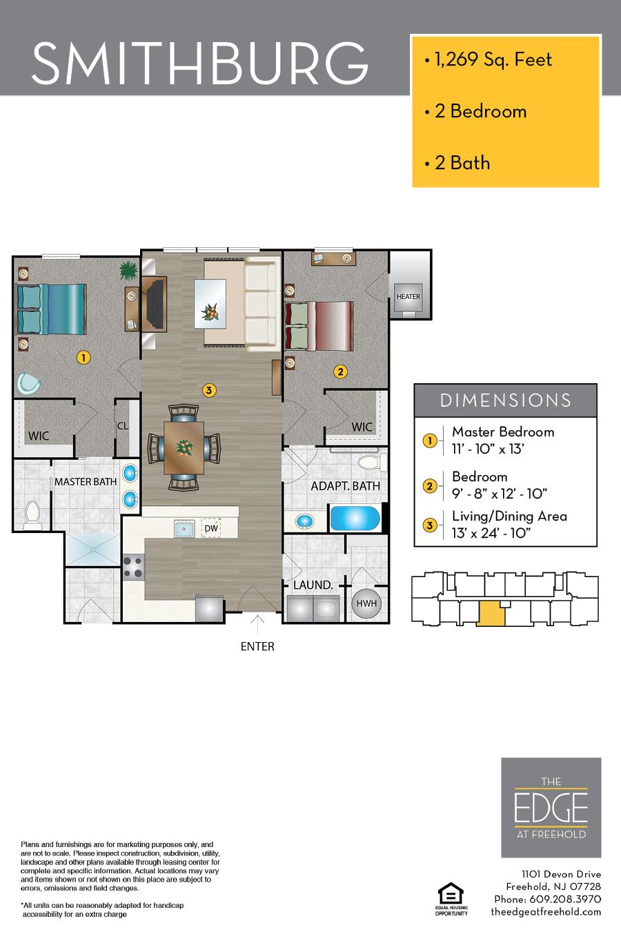 Smithburg Floor Plan