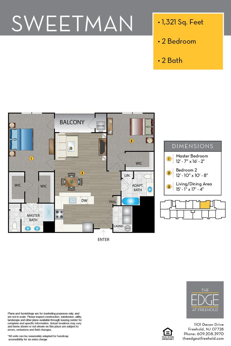 Sweetman Floor Plan