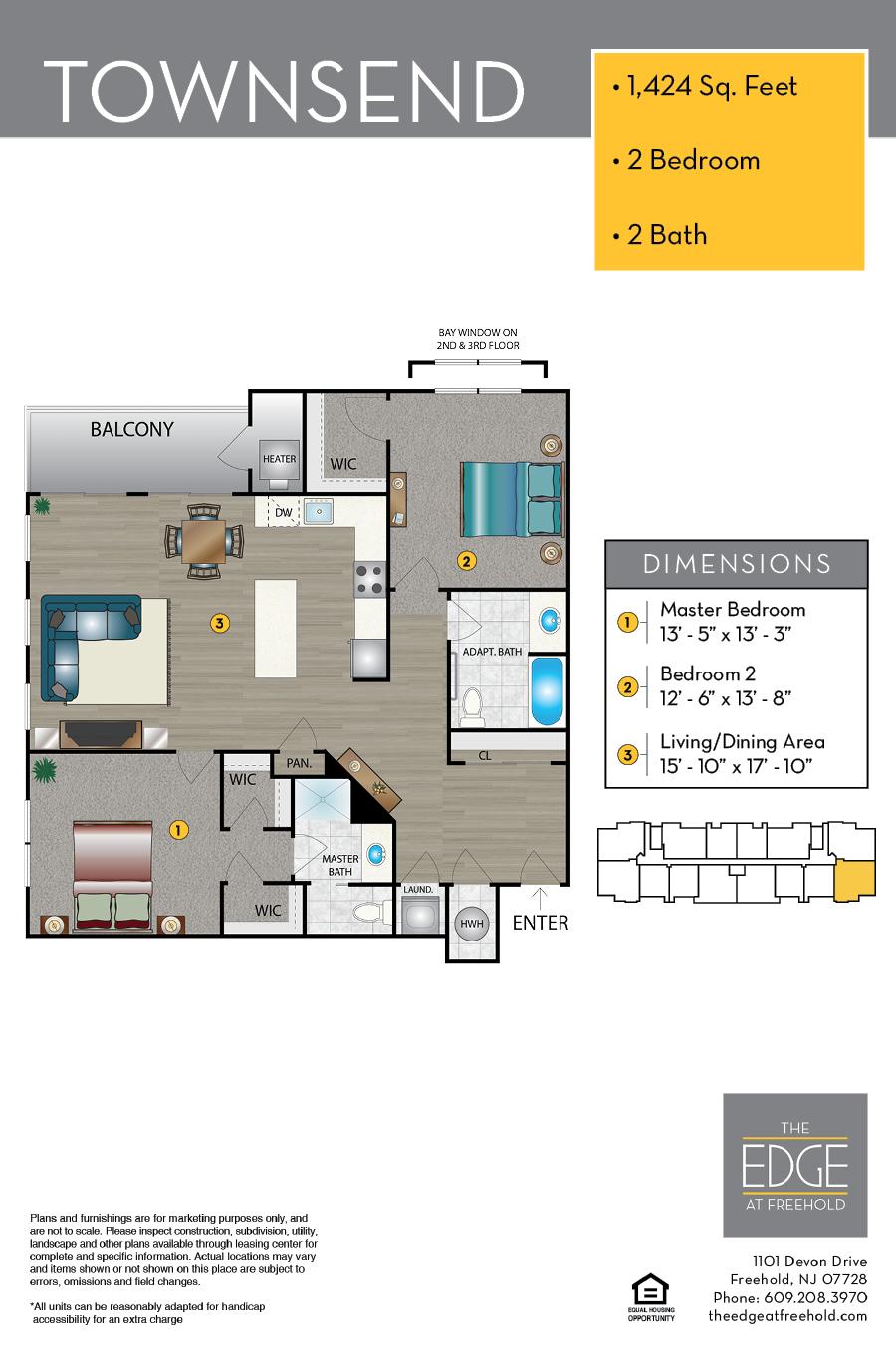 Townsend Floor Plan