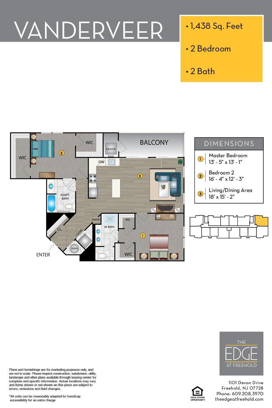 Vanderveer Floor Plan