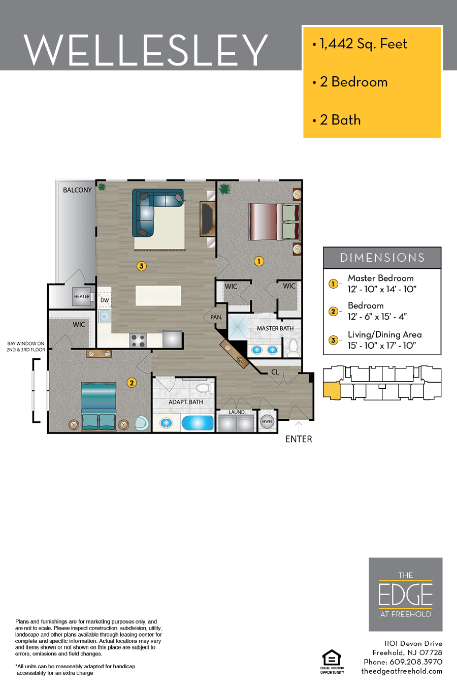 Wellesley Floor Plan