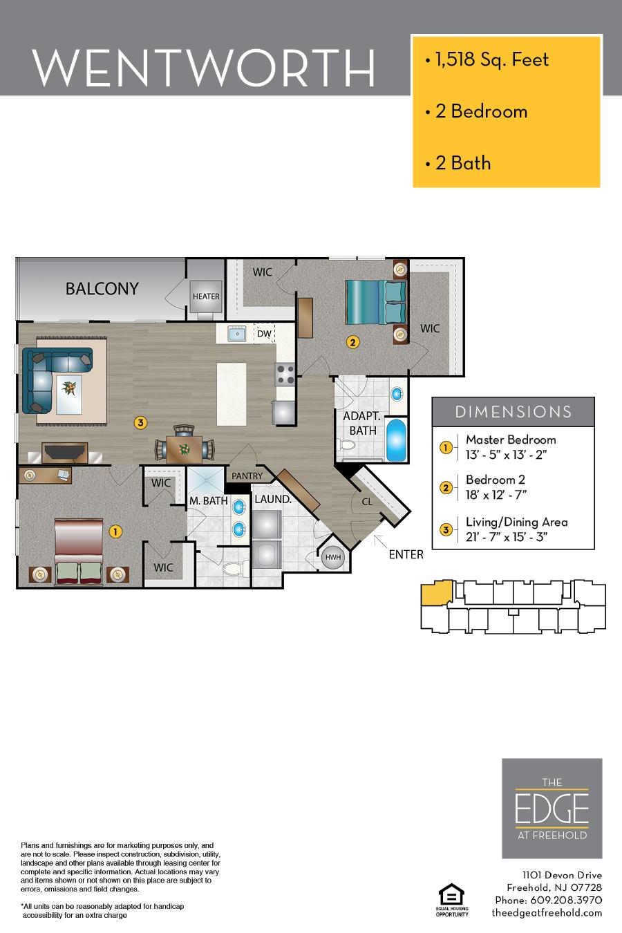 Wentworth Floor Plan