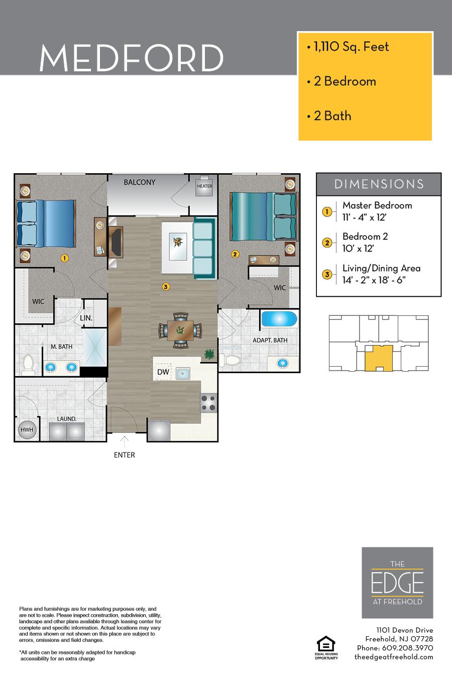Medford Floor Plan