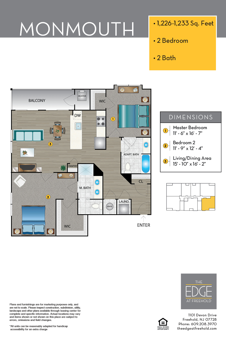 Monmouth Floor Plan