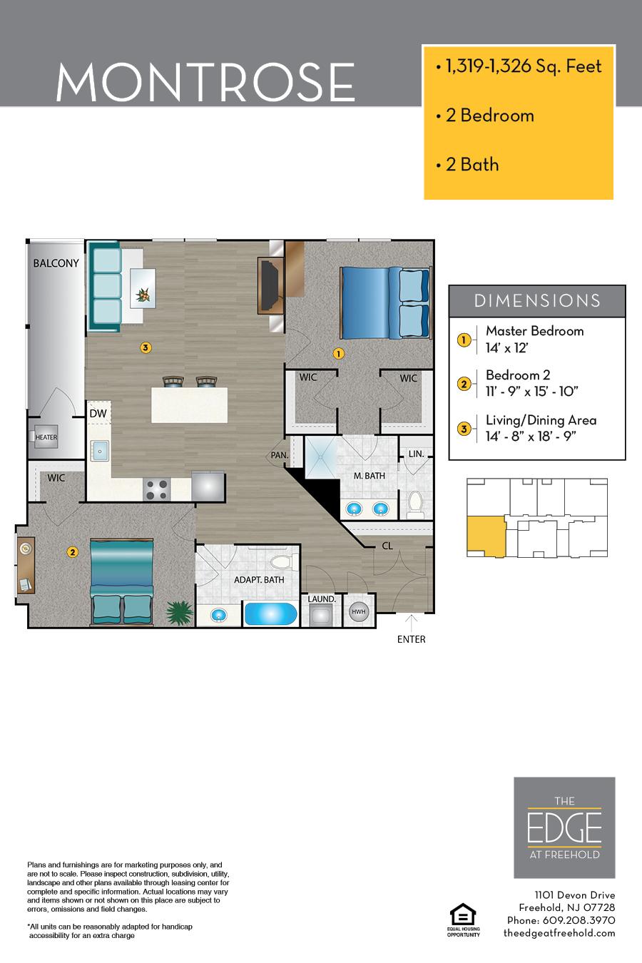 Montrose Floor Plan