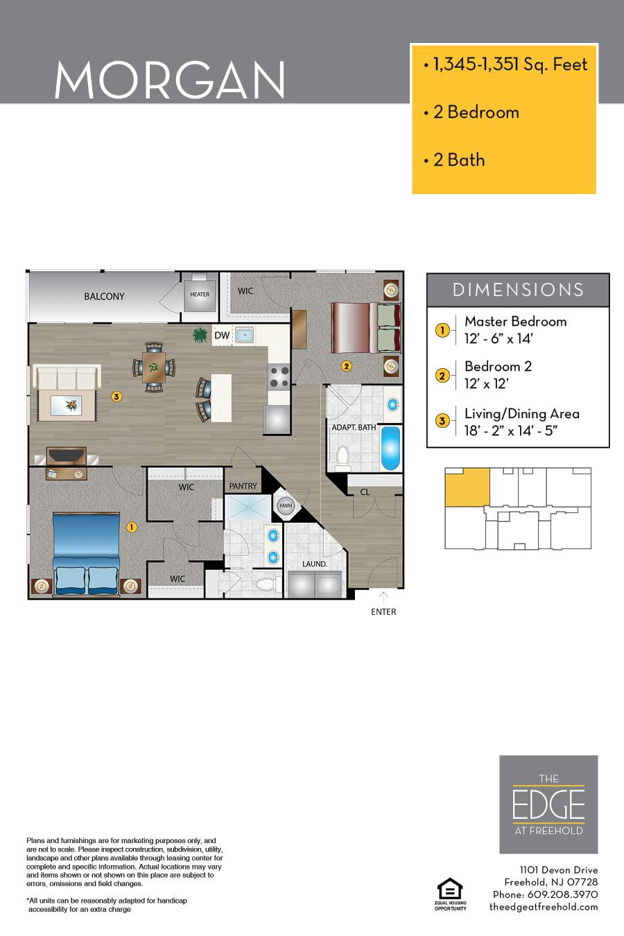 Morgan Floor Plan