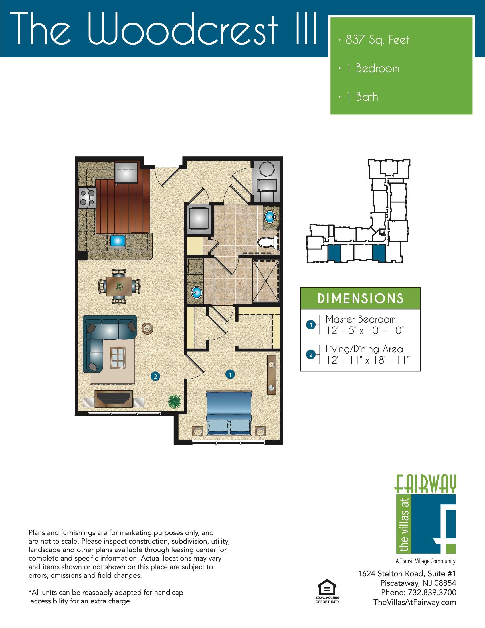 The Woodcrest III Floor Plan