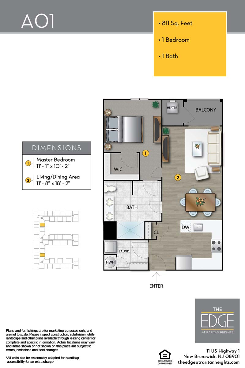 A01 Floor Plan