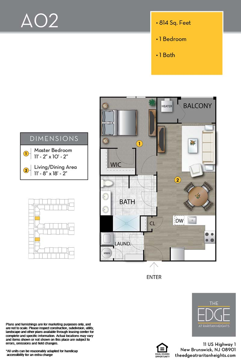A02 Floor Plan
