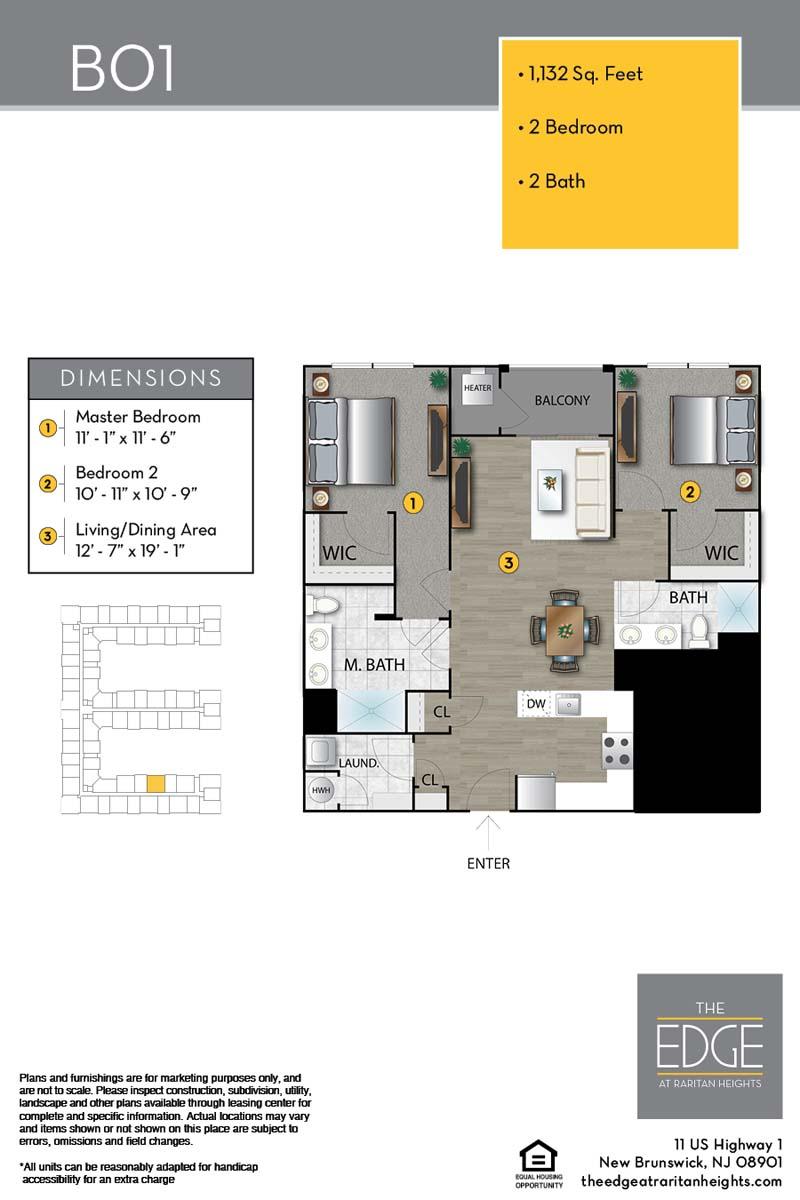 B01 Floor Plan
