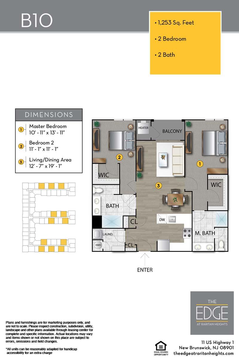 B10 Floor Plan