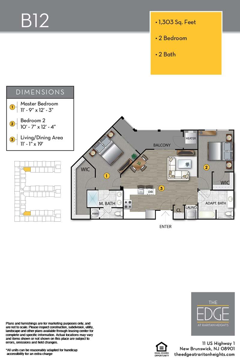 B12 Floor Plan