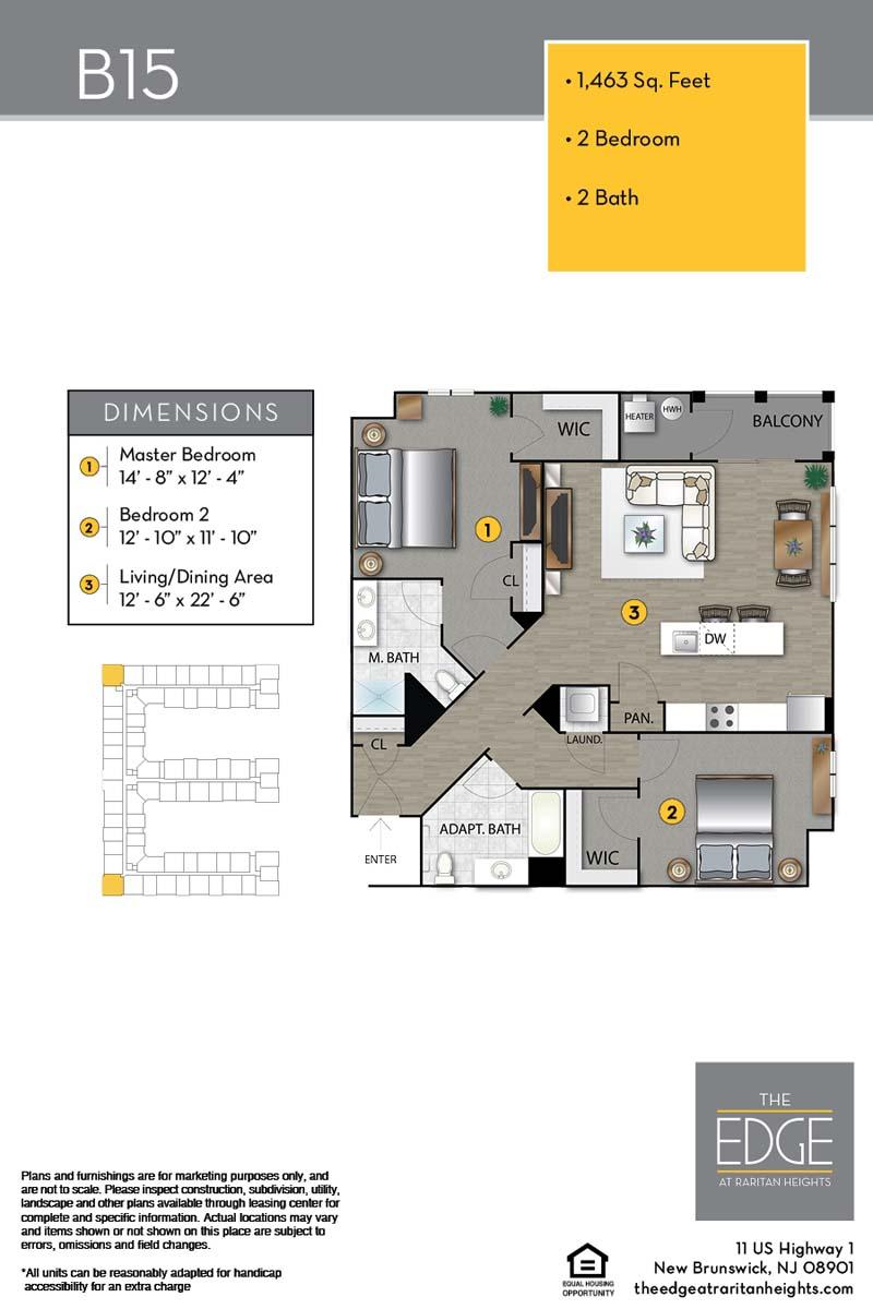 B15 Floor Plan