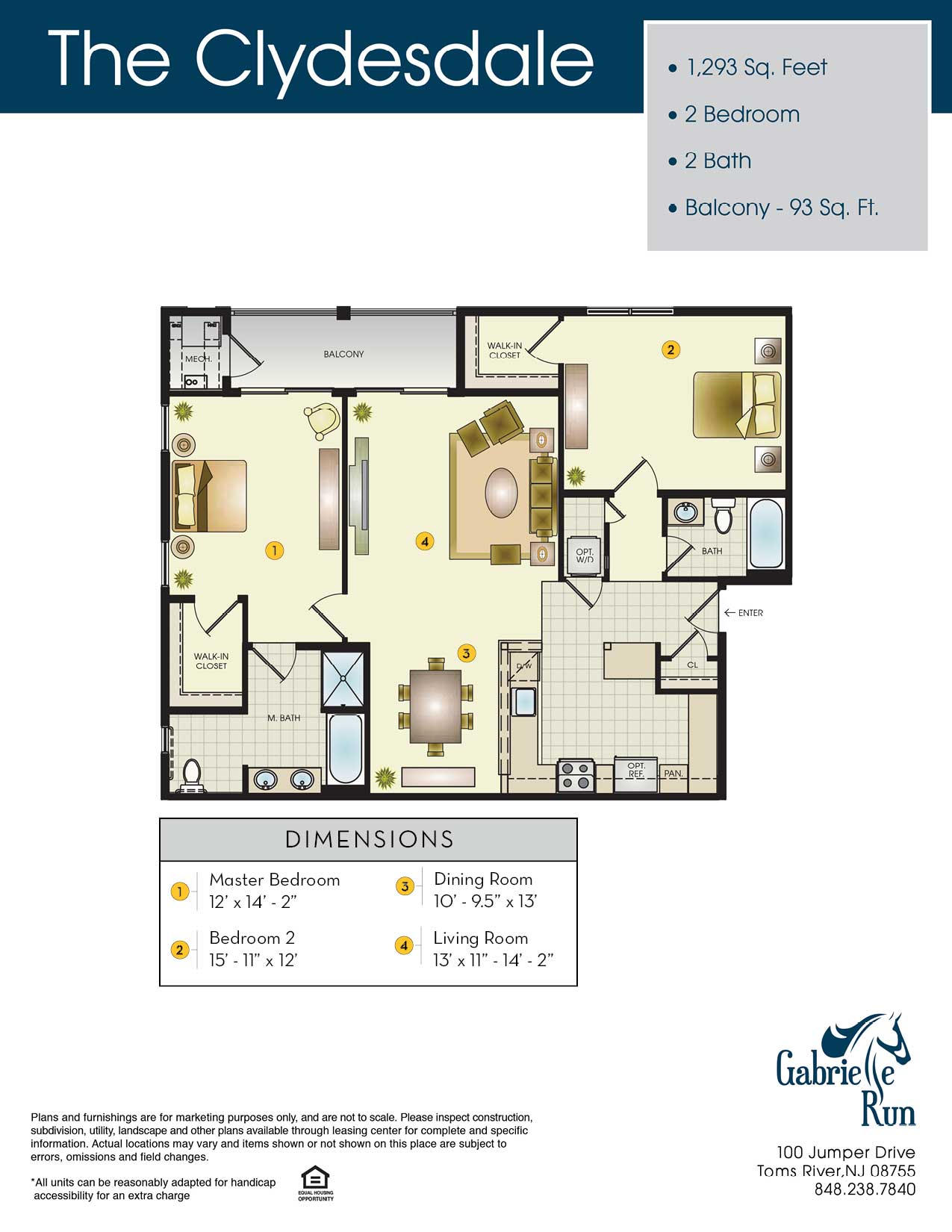 The Clydesdale Floor Plan