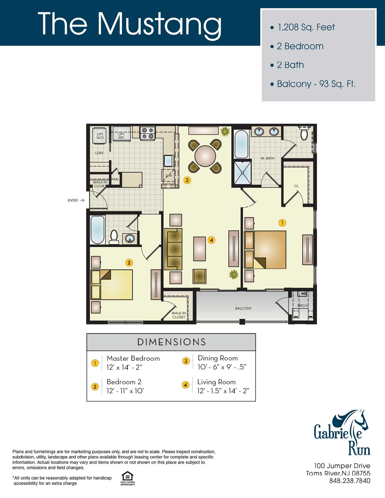 The Mustang Floor Plan