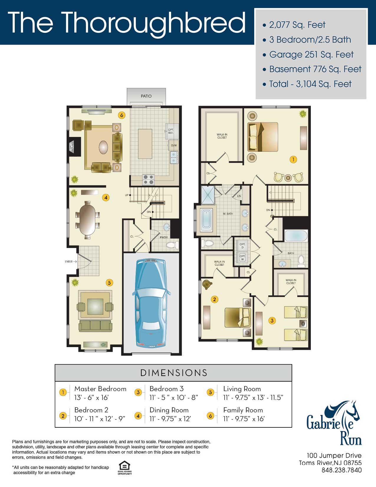 The Thoroughbred Floor Plan