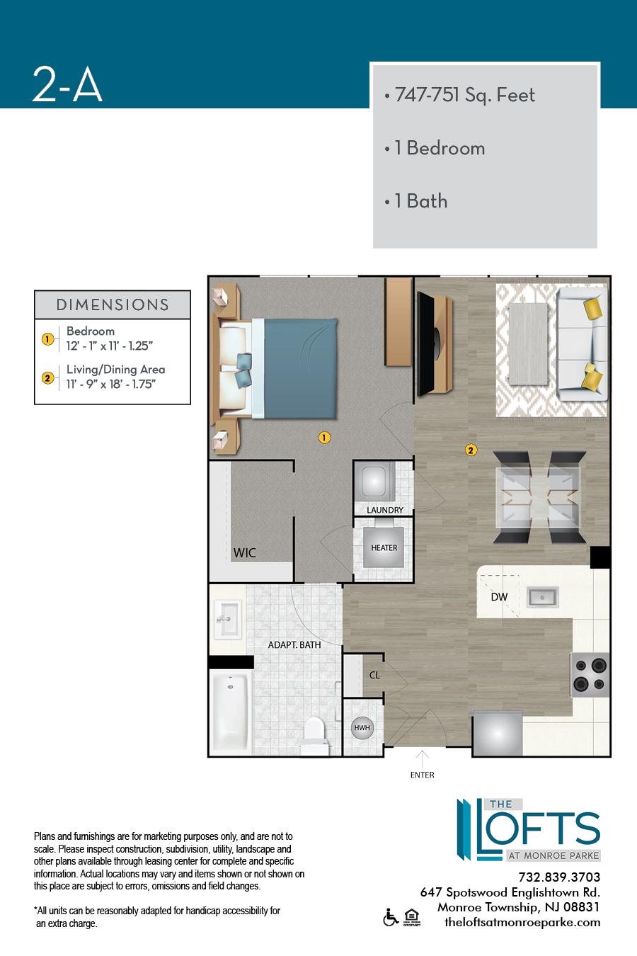 2-A Floor Plan