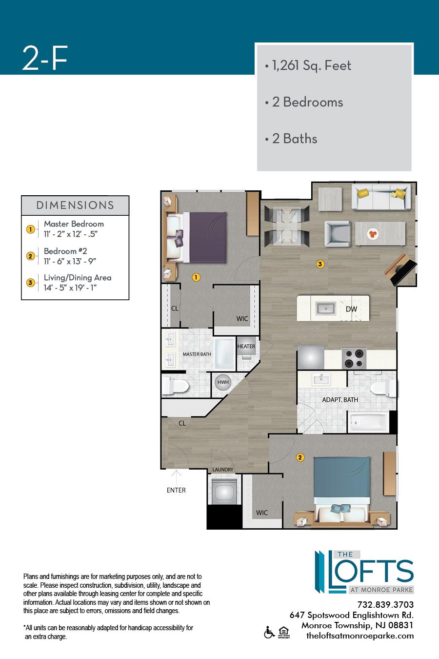 2-F Floor Plan